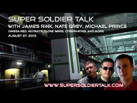Super Soldier Talk - Nate Grey, Michael Prince - Omega Red, Mutants - August 27, 2013