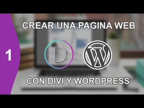 CREAR UNA PAGINA WEB DESDE CERO EDICION DIVI PARTE 1