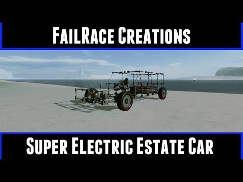FailRace Creations Super Electric Estate (Homebrew Vehicle Sandbox)