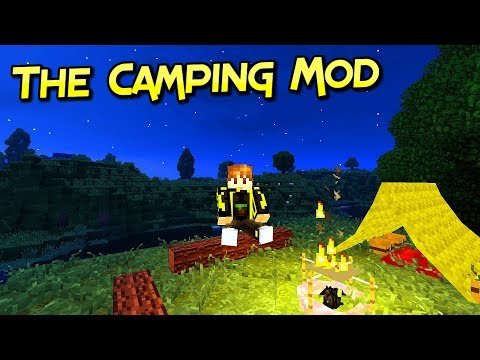 The Camping Mod | Acampando Con Mucho Estilo | Para Minecraft 1.12.2 – 1.7.10 | Tutorial En Español