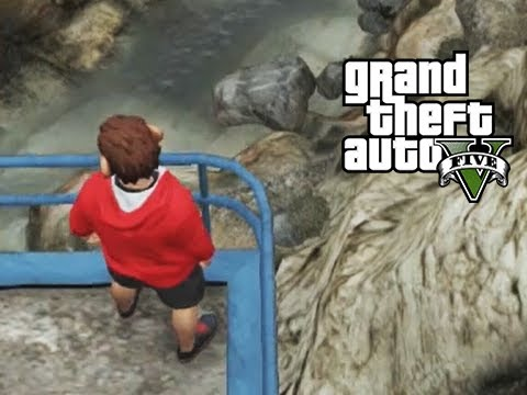 GTA 5 Online Playing Chicken, Squeaker Chased by Delirious ... Lui Calibre Gta 5