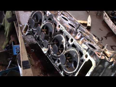 Часть1 Очень редкая поломка  Ремонт двигателя ВАЗ 2107
