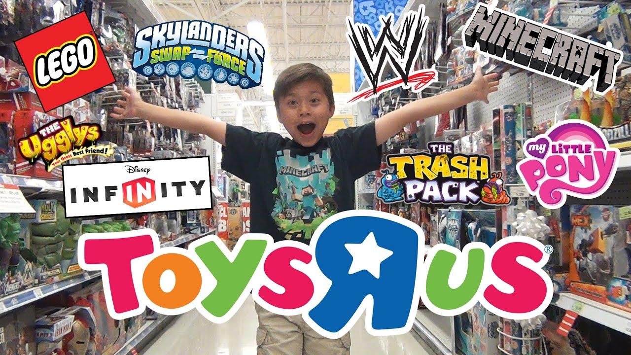Toys Quot R Quot Us Shopping Minecraft Lego Wwe Disney