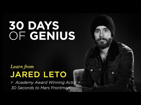 Jared Leto on CreativeLive | Chase Jarvis LIVE | ChaseJarvis