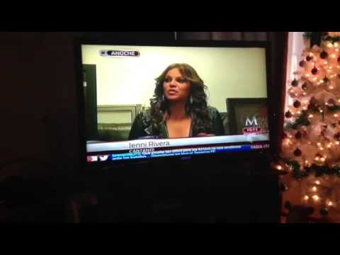 Jenni Rivera's last interview
