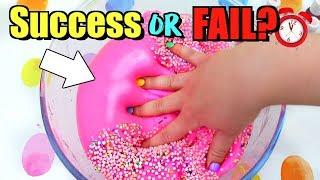 How Long Does It ACTUALLY Take ME To Make Slime?? WHAT YOU DON'T SEE IN MY VIDEOS!