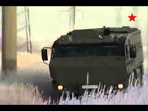 Военный бронированный Камаз Тайфун - бронеавтомобиль