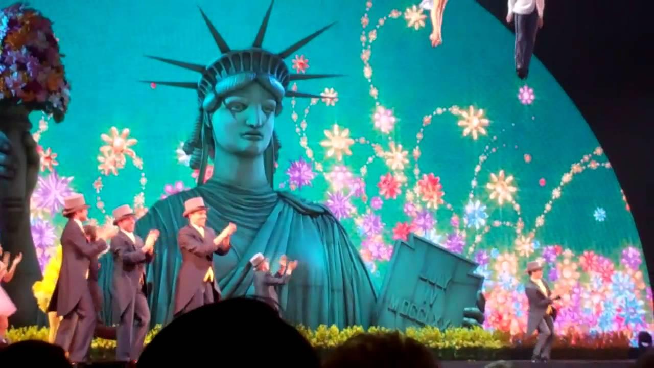 Estos días se puede disfrutar de grandes espectáculos en el Radio City de New York