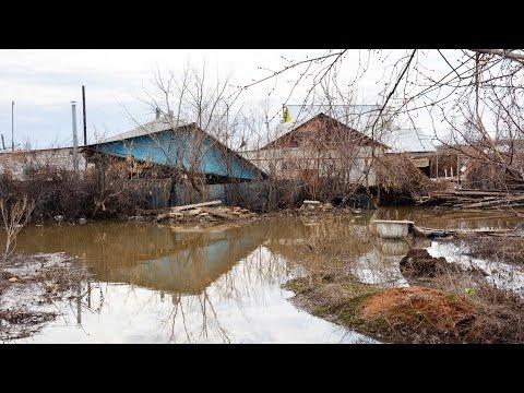 Наводнение в Казахстане: под водой почти полстраны | АЗИЯ