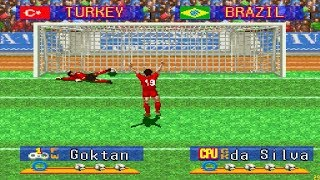 Turkey vs Brazil 4-2 (PK) | International - Quarterfinal | International Superstar Soccer Deluxe