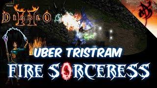 Fire Sorceress Destroys Uber Tristram - Diablo 2