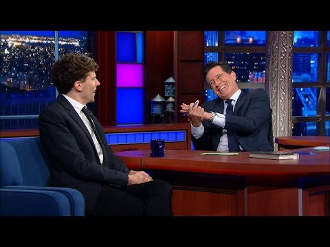 Jesse Eisenberg Has A Problem With His Face