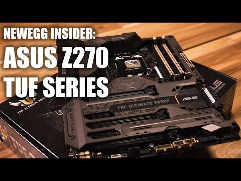 Newegg Insider: ASUS Z270 TUF Series Motherboards