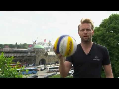 Swatch Major Series exclusive: beach volleyball hits Hamburg