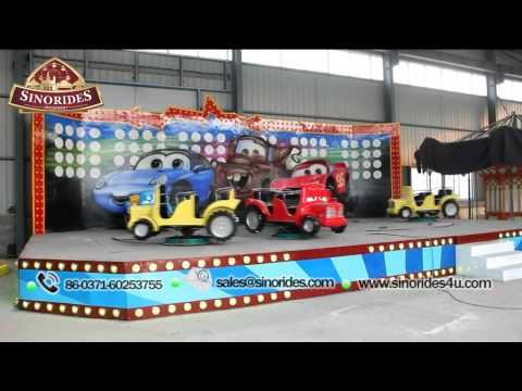 Crazy Car / Magic Car amusement park rides for kids
