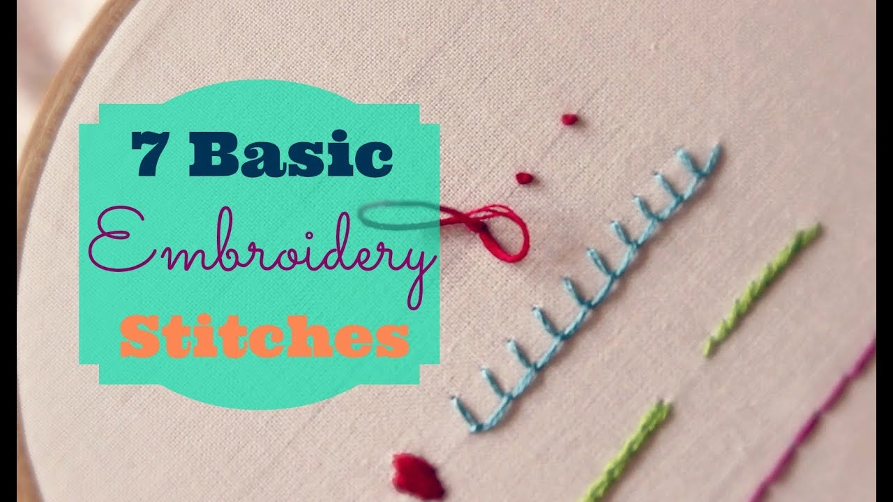 Embroidery stitches for beginners pdf makaroka