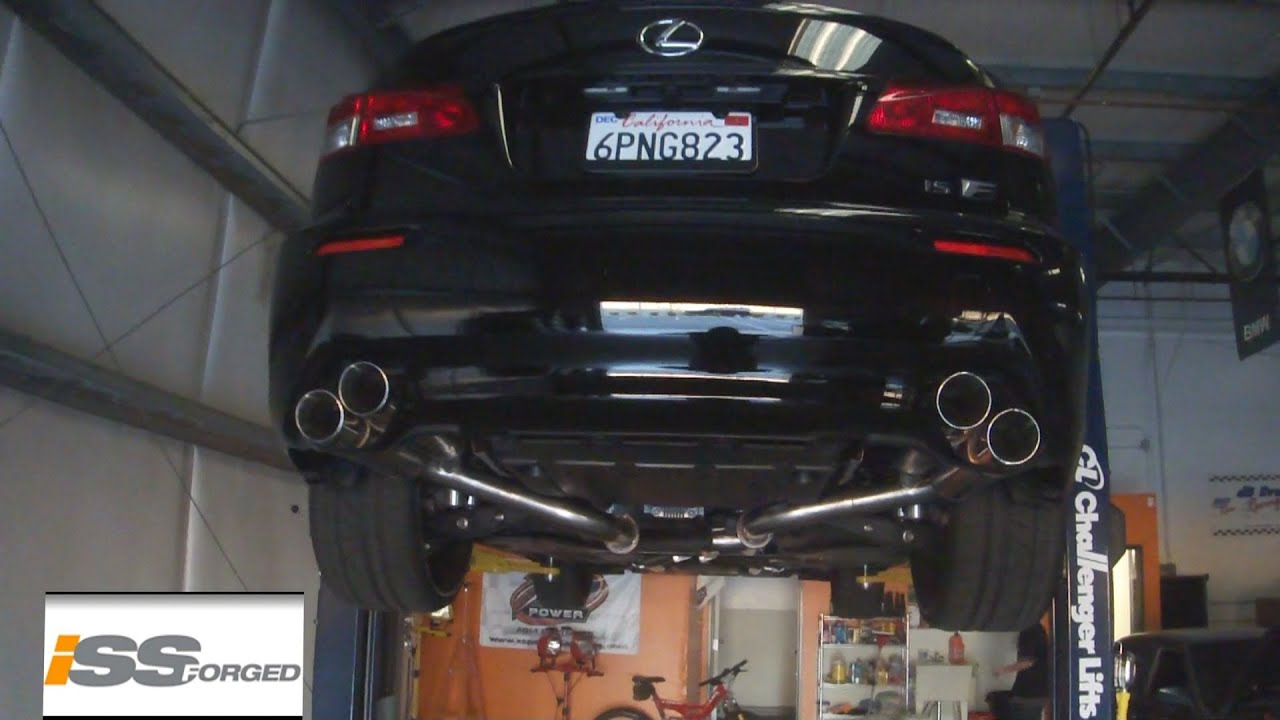 Insane Sounding Lexus Isf Issforged Stainless Cat Back