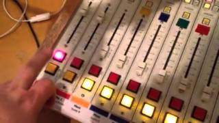 How to operate the board for a Red River Radio live show