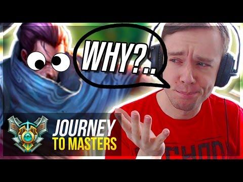 HERE'S WHY YOU BAN YASUO... - Journey To Masters #48 S7 - League of Legends