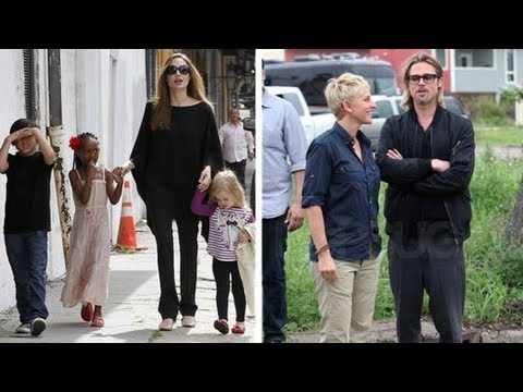 Angelina Jolie and Brad Pitt's New Orleans Date NIghts and Family Outings