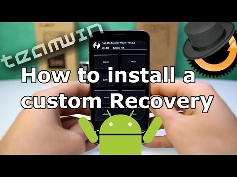 How to install Custom Recovery on every MTK based China Phone ! CWM & TWRP Tutorial [HD]