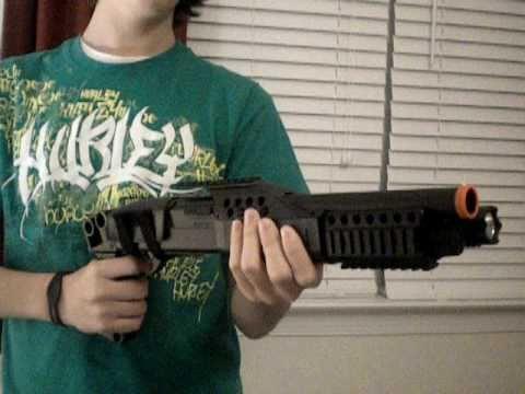 Airsoft Gun Review M180-A1 SHOTGUN