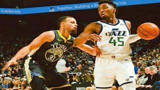 Golden State Warriors vs Utah Jazz 1st Half Highlights  2/12/2019