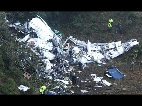 Plane Crash Carrying Brazilian Soccer Team Leaves 75 Dead