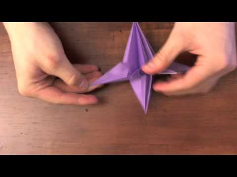Origami Tutorial:  Starship Trooper Bug Warrior video