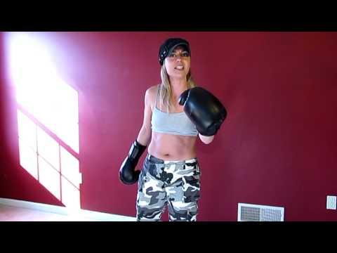 Heygidday.Biz - The Best Biker Patches Wallets Bandanas & More! General Lisa Kickboxing Chick!