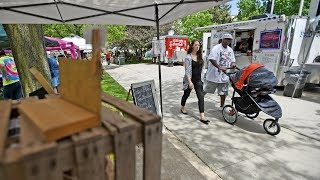 Opening day of Watertown, NY Farmer's Market