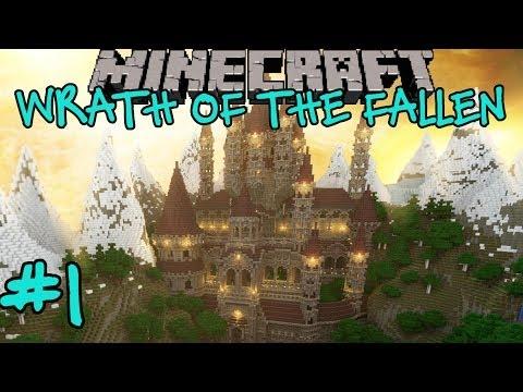Minecraft: Wrath of the Fallen Custom Adventure Map Part 1