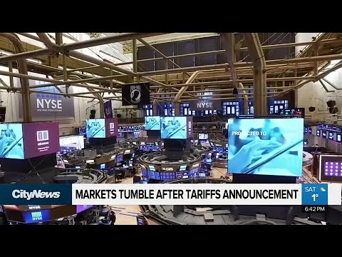 Business Report: Markets Take A Hit After Tariffs Announcement