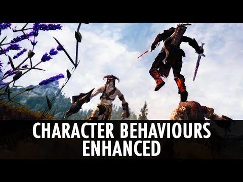 Skyrim Mod: Character Behaviours Enhanced [WIP]