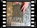 Плетение из газеты дно видео