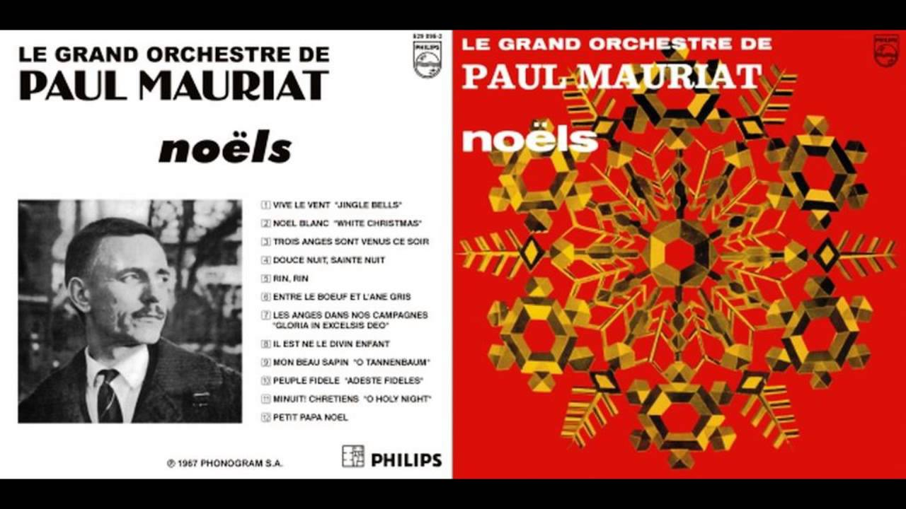 Paul Mauriat And His Orchestra The Christmas Album LP