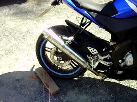 Yzf R125 Yzf-r125 Homemade Exhaust Wnb