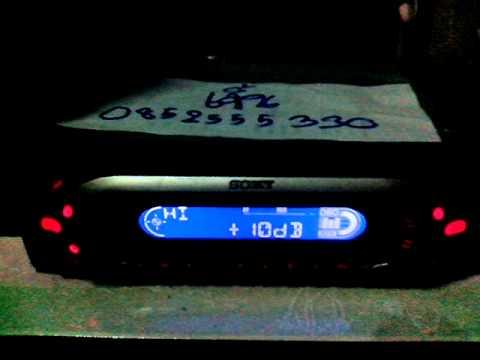วิทยุ Sony CDX-MP40
