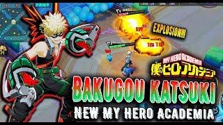 [Non-Human Academy] Bakugou Katsuki - My Hero Academia MOBA | Review Skills