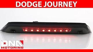 DNA Motoring 10-16 Dodge Journey LED Smoked Third Brake Light