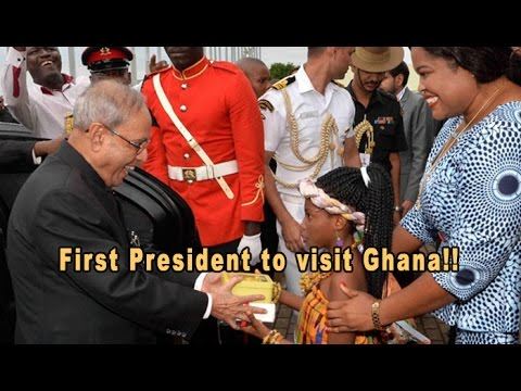 Pranab Mukherjee Becomes First Indian President To Visit Ghana: NewspointTV