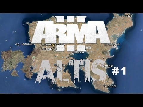 Arma 3: Altis Life | Ep.1 - WHALING (Alienware x51)