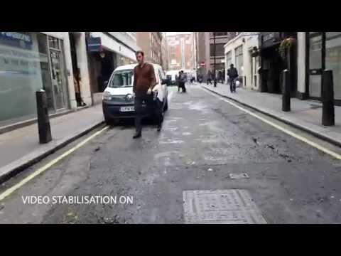 Samsung Galaxy S6 Edge video sample (Video stabilisation demo)