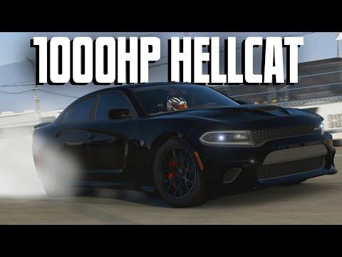 Dodge Charger SRT Hellcat || 1000HP DRAG BUILD || Forza 6