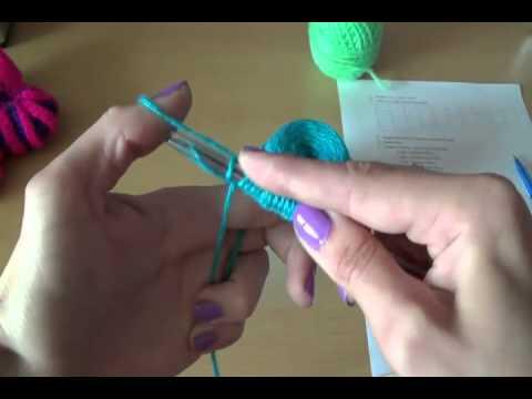 Вязание пинеток по шагам