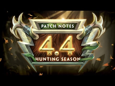 SMITE Patch Notes VOD - Hunting Season (Patch 4.4)
