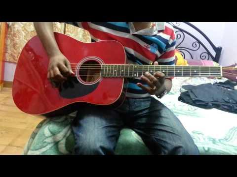 Aashiqui.Bas Ek Sanam chahiye In Guitar by Abraham