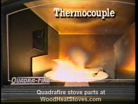 Quadra-Fire 1100-I pellet stove insert operation and maintenance manual  video