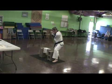 Brick Breaking - Tang Soo Do Hand Techniques Image 1