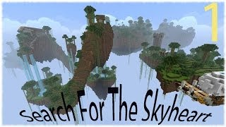 Minecraft: Search For The Skyheart. Ep 1 Circle Islands